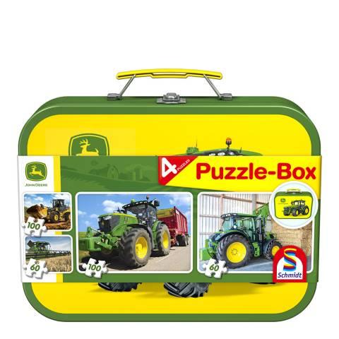 Coiledspring Games John Deere Four Puzzle Box
