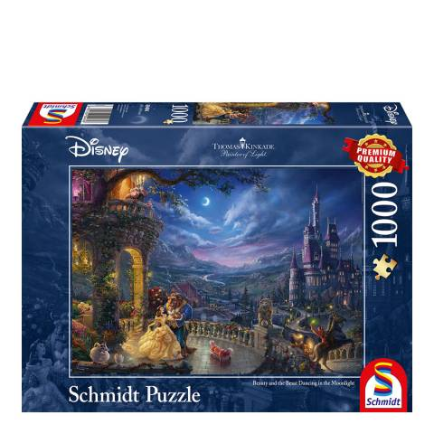 Disney Thomas Kinkade Beauty & the Beast Puzzle(1000pc)