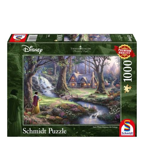 Disney Thomas Kinkade Snow White Puzzle (1000pc)