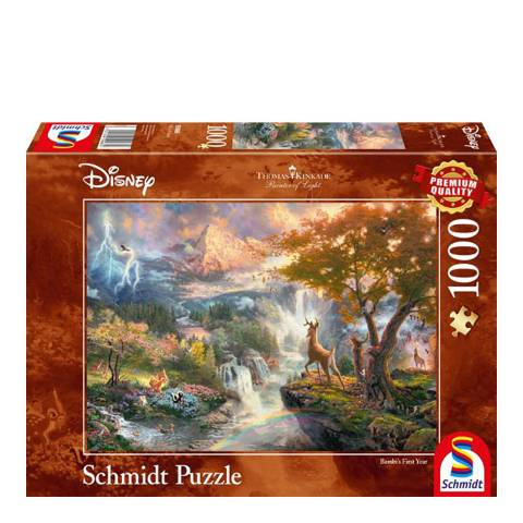 Disney Thomas Kinkade Bambi Puzzle (1000pc)