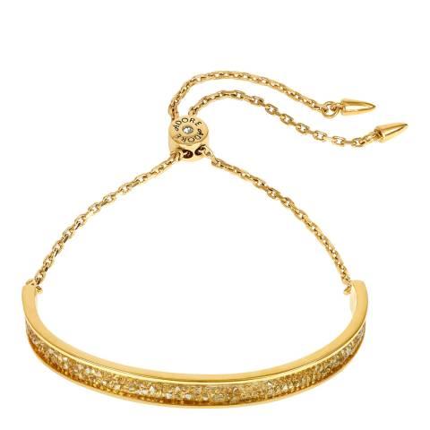 Adore by Swarovski® Gold Plated Ultra Fine Rock Slide Bracelet
