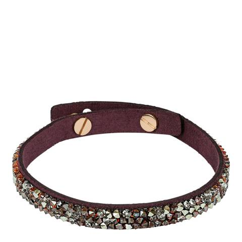Adore by Swarovski® Burgundy Skinny Fine Rock Bracelet