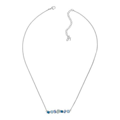 Adore by Swarovski® Silver Mixed Crystal Bar Necklace