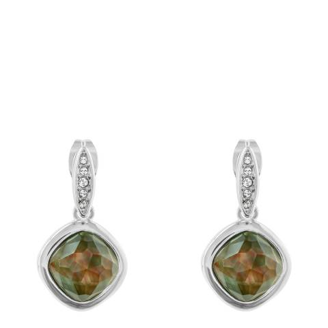 Adore by Swarovski® Silver Mother of Pearl Doublet Earrings