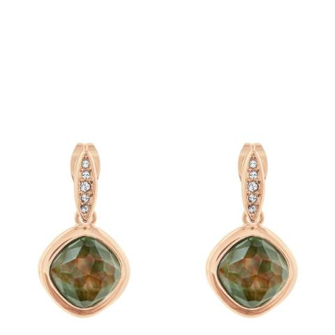 Adore by Swarovski® Rose Gold Mother of Pearl Doublet Earrings