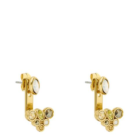 Adore by Swarovski® Gold Plated Mixed Crystal Earring Jacket