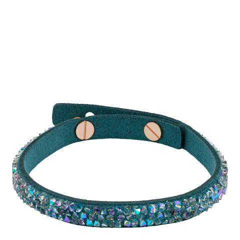 Adore by Swarovski® Teal Skinny Fine Rock Bracelet