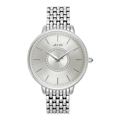 Adore by Swarovski® Silver Luxe Bracelet Watch 38mm