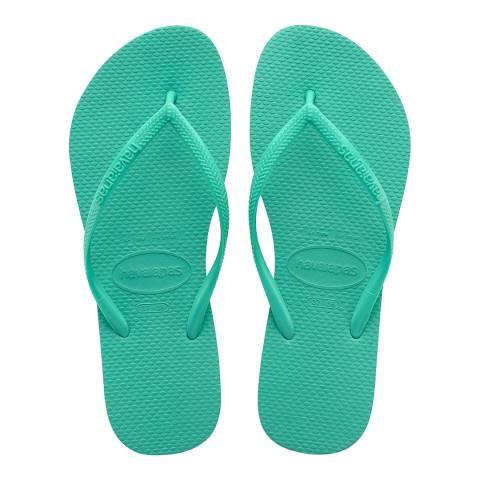 Havaianas Mint Green Slim Classic Flip Flop