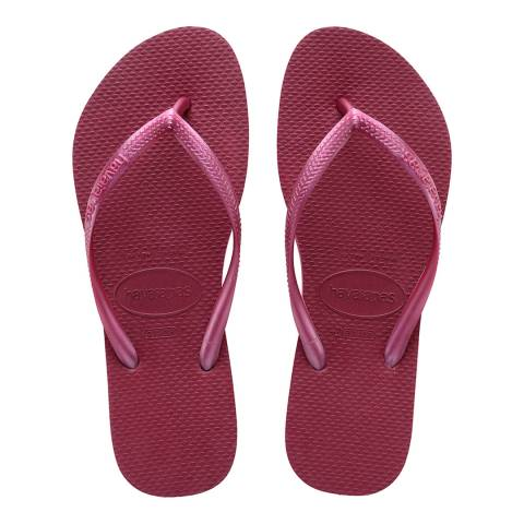 Havaianas Beet Purple Slim Classic Flip Flop
