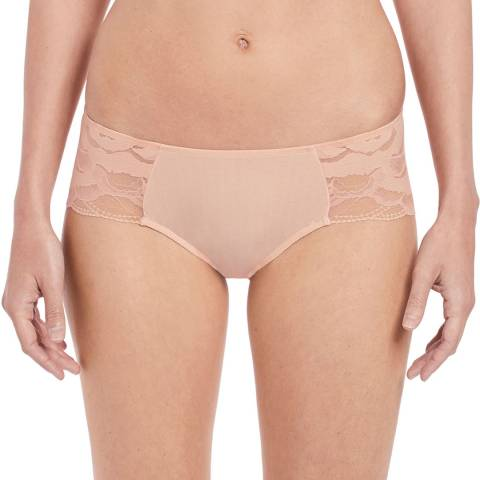 Wacoal Rose Dust Top Tier Hipster Brief
