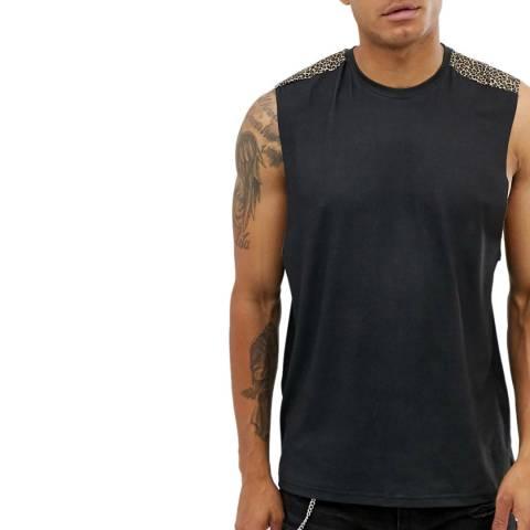 Bolongaro Trevor Black/Leopard Vest