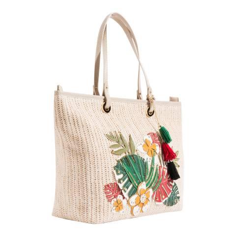 Pia Rossini White Toulouse Bag