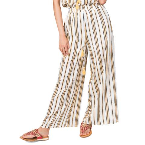 Pia Rossini Yellow Lewes Trousers