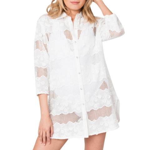 Pia Rossini White Farah Tunic