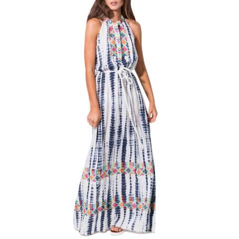 Pia Rossini Multi Delray Maxi Dress