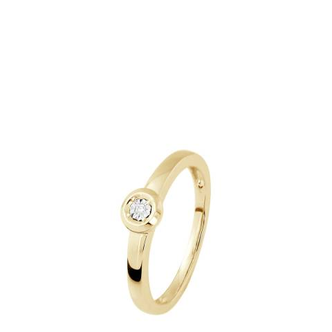 Dyamant Gold Diamond Ring 0.01cts