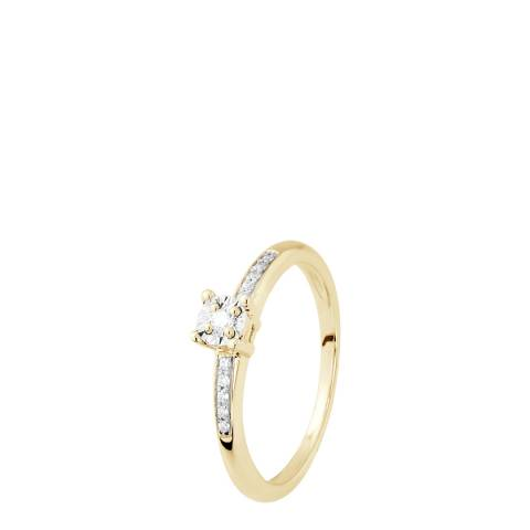 Dyamant Gold Diamond Ring 0.07cts