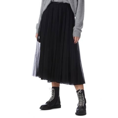 I.T.D Black Pleat Tulle Skirt