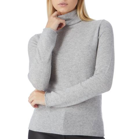 I.T.D Grey Cashmere Roll Neck Jumper