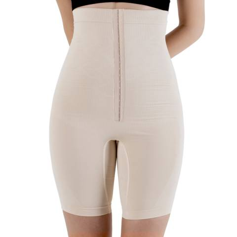 Formeasy Beige Adjustable High Waist Long Leg Shaper