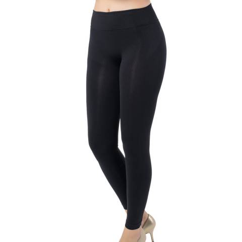Formeasy Black Low Waist Full Tights