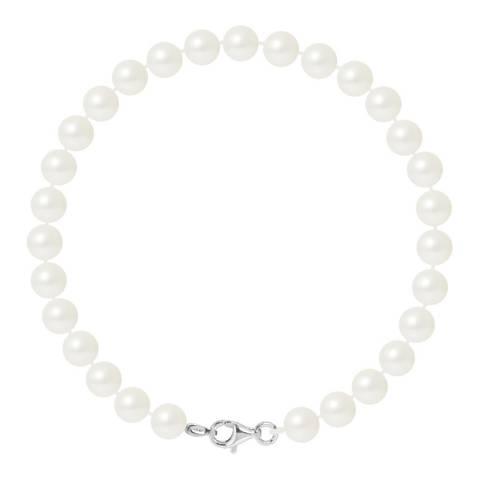 Ateliers Saint Germain White Pearl Bracelet 6-7mm
