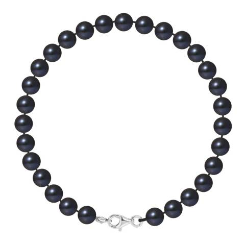 Ateliers Saint Germain Black Pearl Bracelet 6-7mm