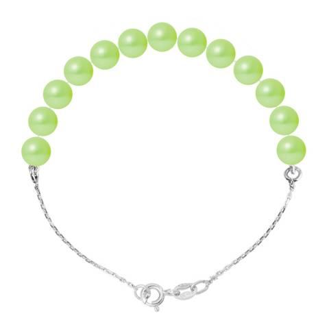 Ateliers Saint Germain Green Pearl Bracelet 6-7mm