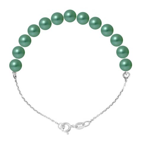 Ateliers Saint Germain Green Pearl Bracelet 6-7mm