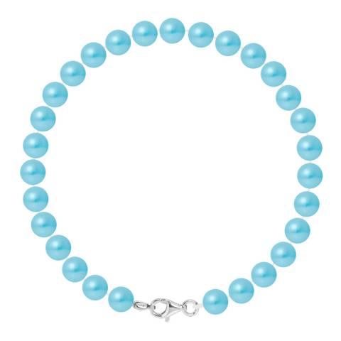 Ateliers Saint Germain Turquoise Pearl Bracelet 6-7mm