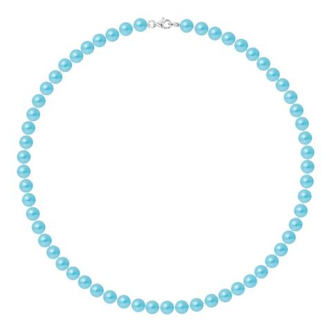 Ateliers Saint Germain Turquoise Row Of Pearls Necklace 6-7mm