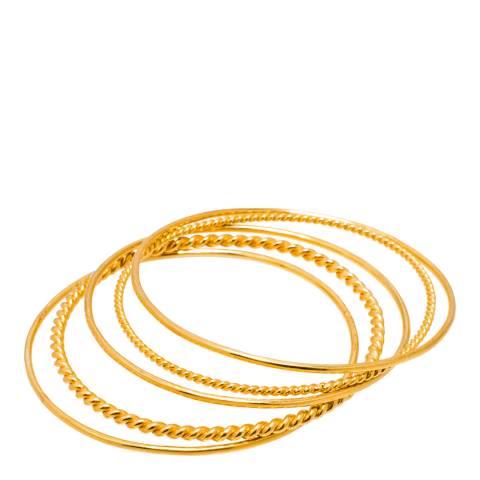 Opuline 22ct Gold Gold Bangles