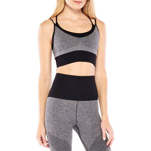 Electric Yoga Heather Grey High Impact Bra