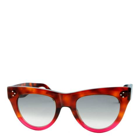 Celine Women's Brown/Rose Sunglasses 51mm