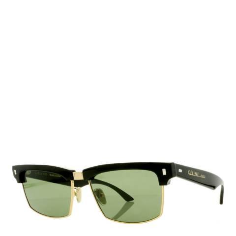 Celine Women's Black/Gold Sunglasses 57mm
