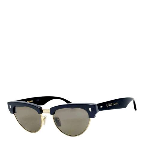 Celine Women's Black/Gold Sunglasses 51mm