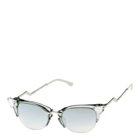 Fendi Women's Silver Sunglasses 51mm