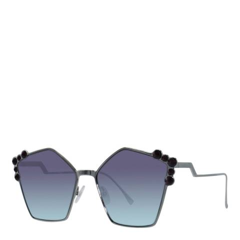 Fendi Women's Silver Sunglasses 57mm