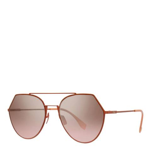 Fendi Women's Peach Sunglasses 55mm