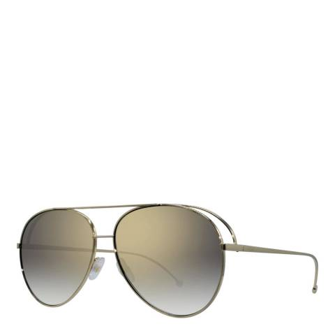 Fendi Women's Gold Sunglasses 63mm