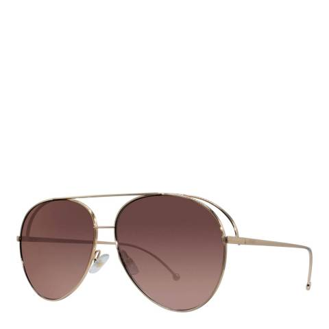 Fendi Women's Gold/Copper Sunglasses 52mm