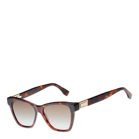 Fendi Women's Brown Sunglasses 63mm
