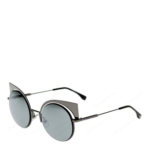 Fendi Women's Silver Sunglasses 53mm