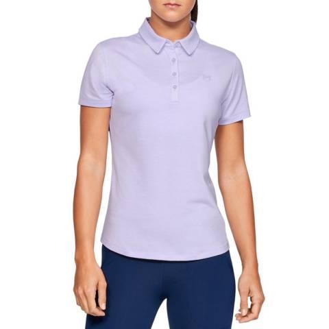 Under Armour Purple Zinger Short Sleeve Polo