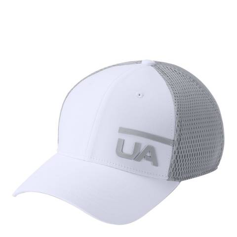 Under Armour White Train Spacer Mesh Cap