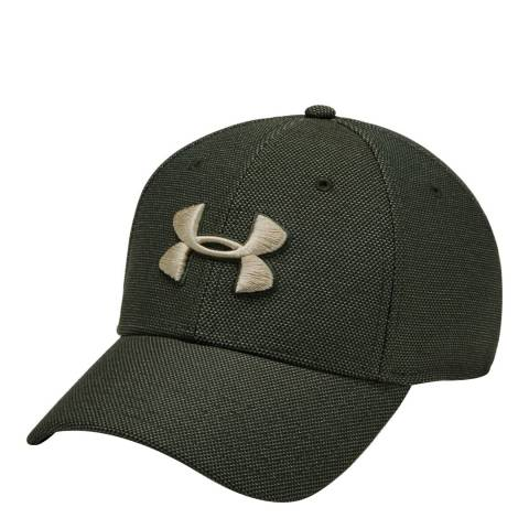 Under Armour Green UA Heathered Blitzing Cap