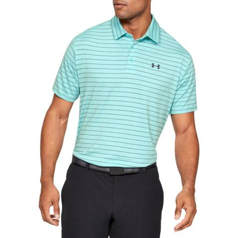 Under Armour Turquoise Playoff Polo 2.0