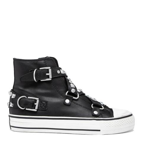 ASH Black Vanessa Leather Sneakers