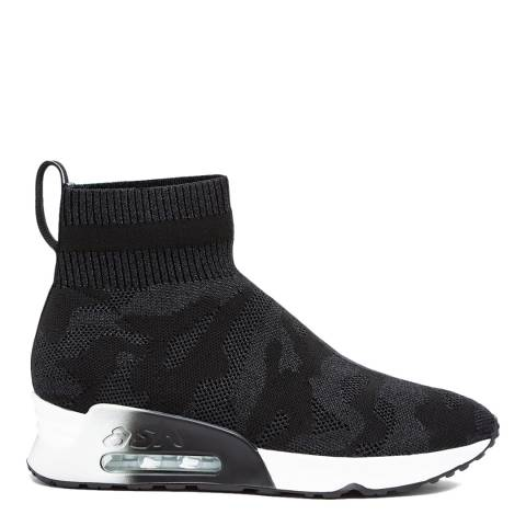 ASH Black Lulu Camo Sneakers
